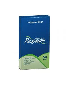 Reassure Disposal Bags, 50 Count