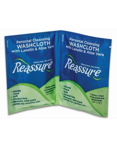 Reassure Travel Pack Washcloths